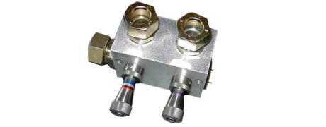 Mehrfach-Drosselventilblock zur Luftmengenregulierung in Papiermaschinen
