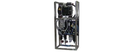Druckluft-Aufbereitungssystem für einen Lasergenerator