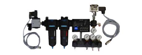Druckluft-Aufbereitungssystem für eine Portalmeßmaschine