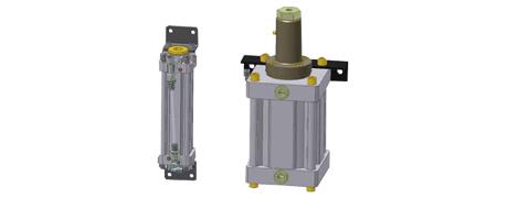 Druckübersetzersystem in Papierschneidemaschinen