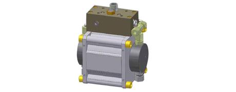 Pneumatisch betriebene Hochdruck-Hydraulikpumpe