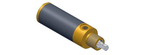 Hochtemperaturzylinder zur Werkzeugklemmung