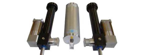 Hydraulik-Zylindersystem zur Düsenstockbewegung in Spritzgiessmaschinen