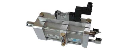 Hydropneumatik-Oszillierzylinder zur Verschleißminderung in Textilmaschinen