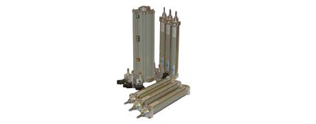 Hydropneumatisches Vorschubsystem in Holzbearbeitungsmaschinen