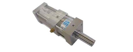 Hydropneumatikzylinder zum Stanzen von CD-Rohlingen beim Spritzgiessen
