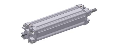 Standardzylinder mit internem potentiometrischen Wegmesssystem