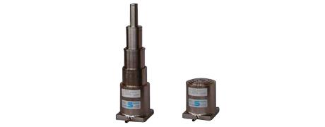 4-stufiger Pneumatik-Teleskopzylinder für Schleiftischbewegung