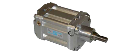 Pneumatikzylinder mit pneumatischer Verriegelung