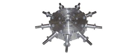Zylindersystem mit 9 Gleichlauf-Zylindern