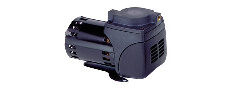 Oilfree  Diaphragm Air Pumps for pressure/vacuum, installation model