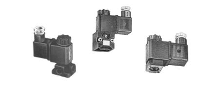Miniatur-Pilotventile 2/2 - 3/2 Serie AA/AB