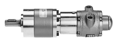 Druckluftmotoren m. Planetengetriebe