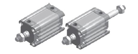 Kompaktzylinder RP/RO