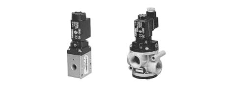 Sitzventile für Druckluft und Vakuum 2/2 - 3/2 Serie AF/AG