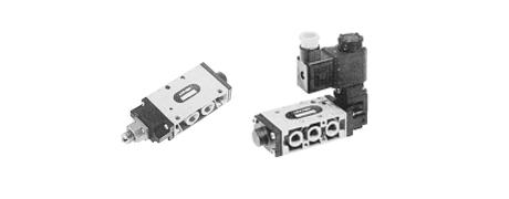 Gewinde-Anschlussventile MIXED 5/2 DN 6 ÷ 15 Serie AC